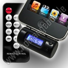 FM Transmitter für iPhone 3 3G 3 GS 4 4G 4S iPod iPad  MP3 Player Radio Sender KFZ