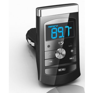 FM Transmitter MP3 Player Radio Sender Spielt von microSD, SD, USB, ab