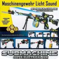 Spielzeugwaffe Gewehr Maschinengewehr Licht Sound Bewegung Pistole Waffe NEU TOP