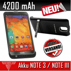 Akku Power Bank 4200mAh für Samsung Galaxy NOTE 3