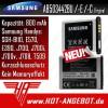 Original Samsung Akku AB503442BE AB503442BU SGH-B110 E570 E390 J700 J700i