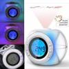 Sprechender Projektionswecker Wecker Uhr Blindenuhr mit Temperaturanzeige LED