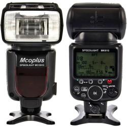 Blitzgerät für Nikon i-TTL Mcoplus SB-910 MCO910 TTL CLS HSS LZ60 18-180mm 360°